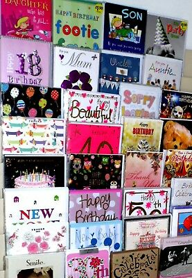 SPECTACULAR VALUE! 12p PER CARD, 1000 CARD MIX, SUPERB QUALITY- WRAPPED.