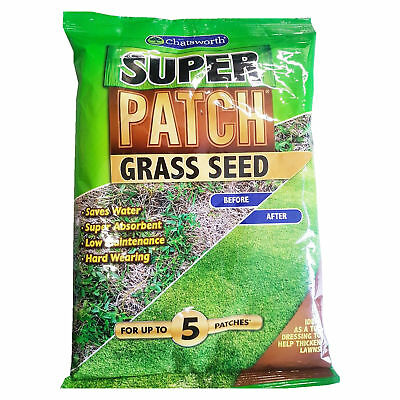 Garden / Allotment Plant Accessories - Chatsworth 200g Super Patch Grass Seed