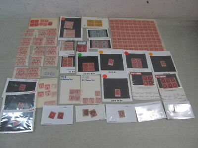 Nystamps G Old US BOB SD Postage Due stamp & plate block collection