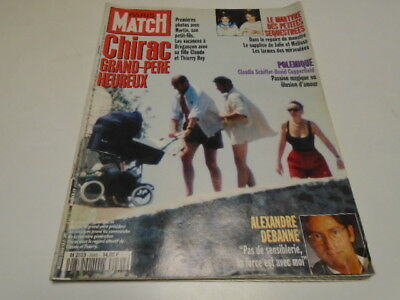 P. Match N°2466  Julie Et Melissa - Claudia Schiffer &David Copperfield   1996 /
