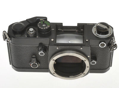 Nikon F2 black, body only, exc+ condition but in working order