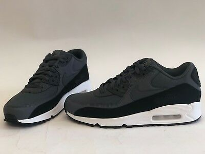 outlet store a8a86 babe7 Nib Mens Size 12 Nike Air Max 90 Essential Sneakers Black 537384-085