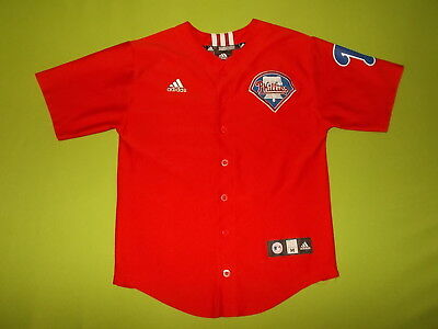 Jersey PHILADELPHIA PHILLIES (10/12 years) (Youth M) ADIDAS PERFECT !!!