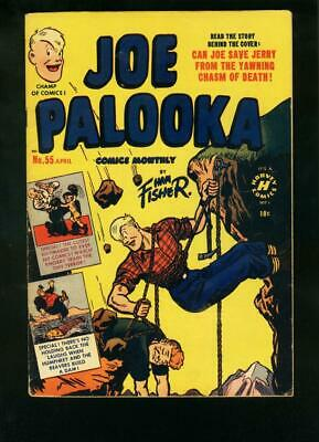 Joe Palooka #55 1951-Boxing Comic-Ham Fisher-Little Max Fn