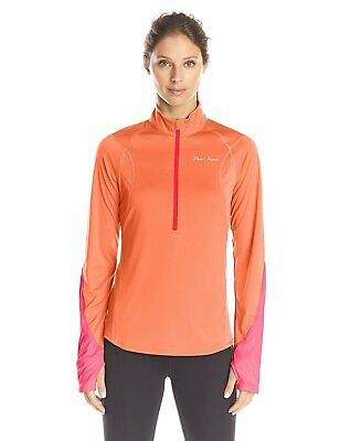 Pearl Izumi Run Women's Fly Long Sleeve Top, Large, Living Coral/Honeysuckle