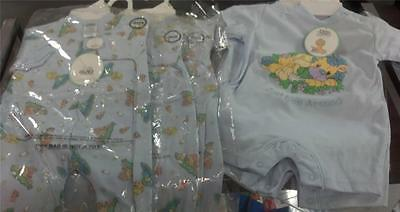 NWT PRECIOUS MOMENTS ONE PIECE OUTFITS LOT OF 12 BOYS  0-9 month  $17.99/ea $215