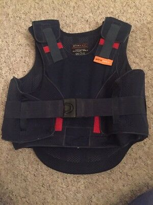 Kids/child's Horse Riding airowear body protector Chest 62 - 68 Cm Used