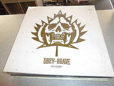 OBEY THE BRAVE - Mad Season - colored LP Vinyl /// Neu & OVP /// incl. DLC