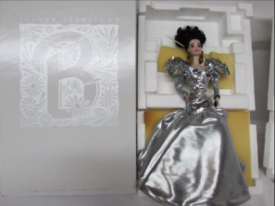 Barbie SILVER STARLIGHT BARBIE PORCELAIN Limited Timeless Collection 1993