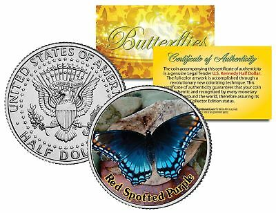RED SPOTTED PURPLE Butterfly Series JFK Kennedy Half Dollar U.S. Coin NEW
