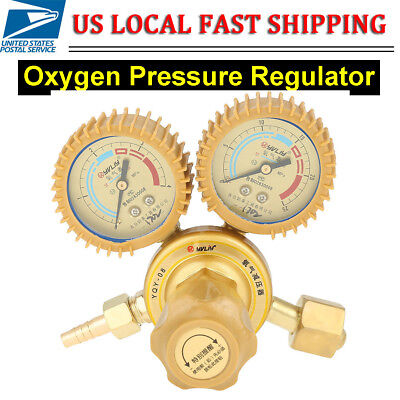 Oxygen Gas Welding Welder Regulator Pressure Gauge Victor Type Cutting CGA 540