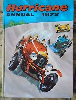 The Hurricane  1972  - Annual - Unclipped