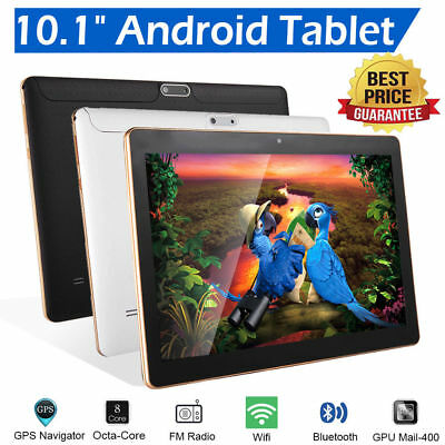 """64GB 10.1""""Zoll Octa Core Android WIFI 3G Tablet PC Dual SIM PAD Computer Ebook"""