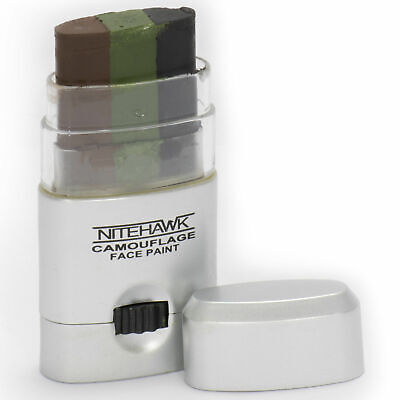 Nitehawk Camouflage GI/Army/Military Wind Out 3 Colour Face Paint Stick