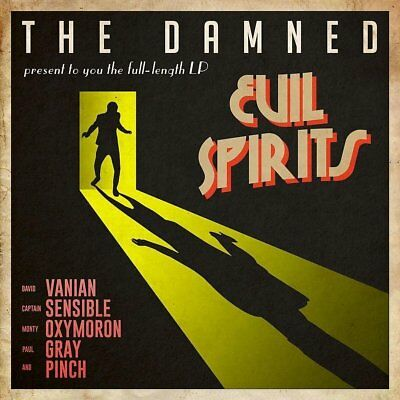 The Damned - Evil Spirits [CD] New & Sealed