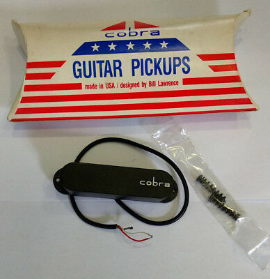Cobra Pickup, S1 Single Coil, Made in USA, NEU By Bill Lawrence