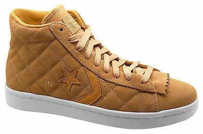 8956b34493f9fe Converse Pro Leather Undftd Undefeated Lace Up Tan Mid Mens Trainers  137374C M8