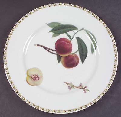 Rosina Queens HOOKER'S FRUIT (INDIA) Peach Dinner Plate 5963234