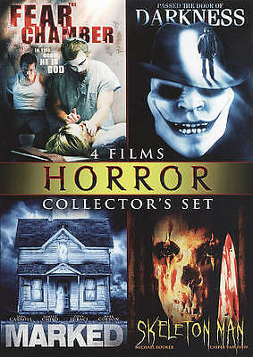 Horror Collectors Set, Vol. 8: Fear Chamber/Darkness/Marked/Skeleton Man (DVD)