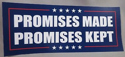Wholesale Lot Of 10 Promises Made Promises  Kept Trump Campaign Sticker 2020 Usa
