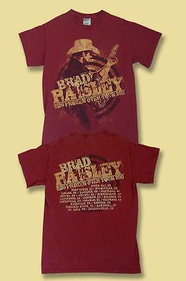 "Brad Paisley - 2011 ""h2O Frozen Over"" Concert Tour T-Shirt / Sz. Small"