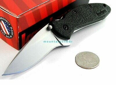 Kershaw Scallion SMALL Flipper Speed Assisted Knife Clam Package USA 1620