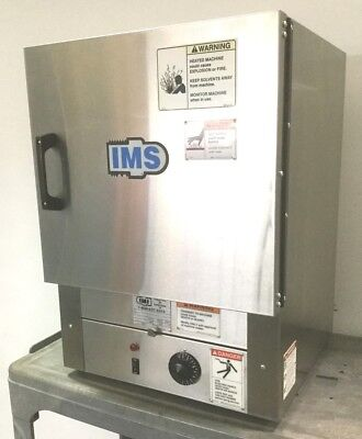 IMS 108288 Convection Drying Oven Bench Top 3-Shelves 1.27ft³ 120VAC 800W 518°F
