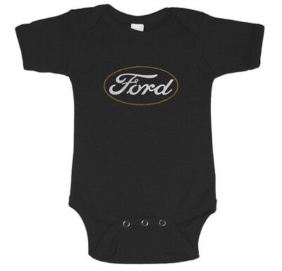 Ford baby clothes infant t-shirt one piece shower gift mustang racing mopar tee