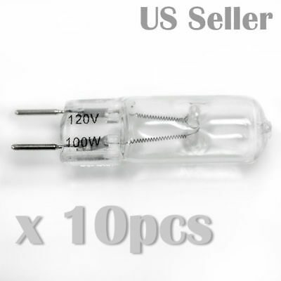 TP Lighting 10 x G8 120V 100watt Halogen Lighting Light Bulb G8-120V-100W-10P