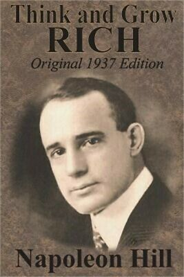 Think and Grow Rich Original 1937 Edition (Paperback or Softback)