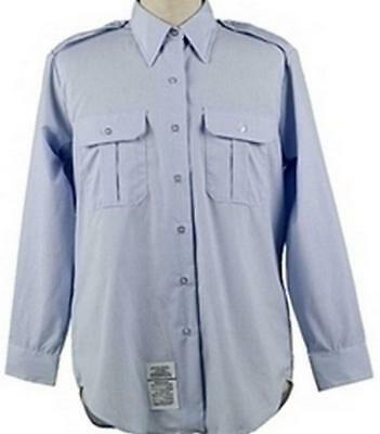 USAF US AIR FORCE TYPE 1 CLASS 1 SHIRT AF BLUE 1550 SIZE 15 1/2 x 35 NEW 33-F