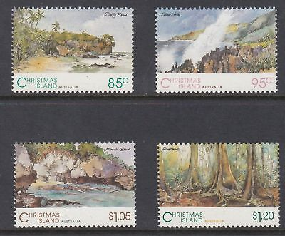 Mint 1993 Christmas Island Xmas Island Scenic Views Stamp Set Of 4 Muh