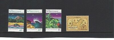 Mint 1993 Christmas Island Xmas Island Christmas Stamp Set + $2 Naming Stamp Muh