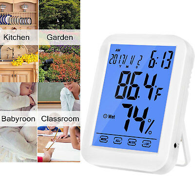 Digital Hygrometer Thermometer Indoor Temperature & Humidity Monitor USA