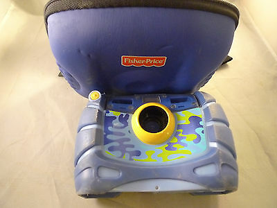 Fisher Price KidTough Waterproof Digital Camera Blue Previously Owned Works