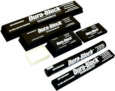 Dura-Block Af44L Sanding Block Kit - 7 Pieces - The Perfect Blocking Tool