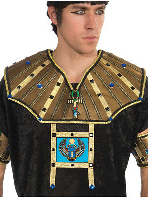 Adults Mens Deluxe Egyptian Pharoah 2 Piece Collar Costume Accessory