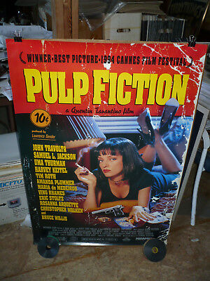 PULP FICTION, orig rolled 1-sh / movie poster (Quentin Tarantino and friends)