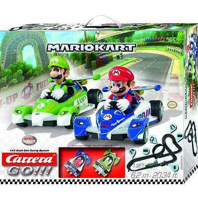 Carrera Go Mario Kart Slot Car Set 62431