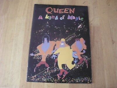 Queen: A Kind Of Magic - The Magic Tour '86 - Programme