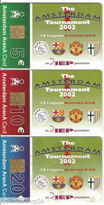 Phone or Organisation Cards - Amsterdam Arena - Tournament 2002 - NL-A044.01