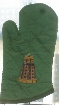 Doctor Who inspired Dalek Oven Mitts.