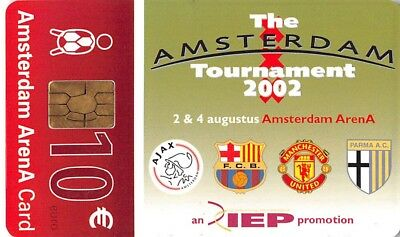 Phone or Organisation Card - Amsterdam Arena - IEP Tournament 2002 - NL-A044.02