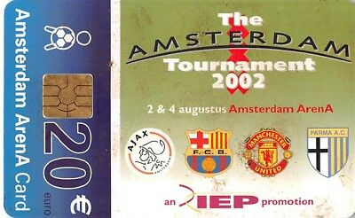 Phone or Organisation Card - Amsterdam Arena - IEP Tournament 2002 - NL-A044.03