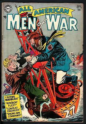 All American Men Of War #15 1954-Nazi-Wwii-Dc Comics