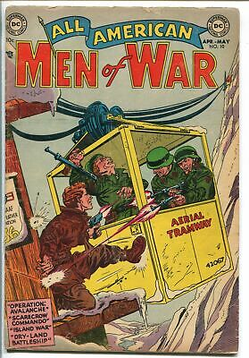 ALL AMERICAN MEN OF WAR #3 1954-DC COMICS-WWII COVER-vg