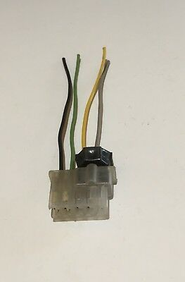 1969 camaro chevelle am fm delco radio plug wire harness nova 69 firebird 69