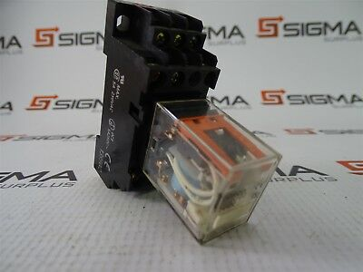 Omron MY4N-D2 Cube Relay With Base 24VDC