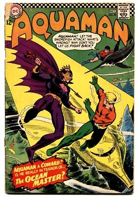 Aquaman #29 comic book First Ocean Master DC villain 1966