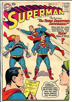 Superman #115 1957-DC-Midget Superman-G/VG